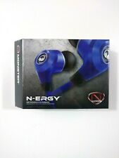 NEW - Sealed Monster N-ERGY EARBUDS BLUE