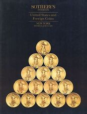Sotheby's United States and Foreign COINS CATALOGO ASTA NEW YORK June 1993