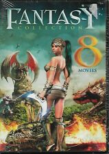 Fantasy Collection! w/8 Movies! (Dvd) Over 13 Hours of Unrated Sci-Fi/Fantasy!