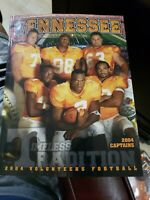 2004 University Of Tennessee Football Guide