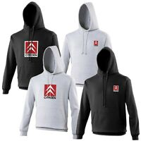 Citroen Hoodie Car Enthusiast VARIOUS SIZES & COLOURS Racing Rally