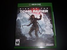 Replacement Case (NO  GAME) RISE OF THE THE TOMB RAIDER XBOX ONE 1 XB1 ORIGINAL