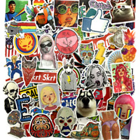 100 fashion Stickerbomb tuning Retrostickern Aufkleber Sticker Mix Dope Decal o
