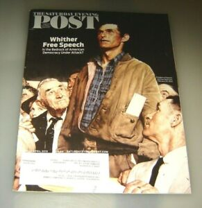 Saturday Evening Post Magazine Norman Rockwell Freedom Mar/April 2015