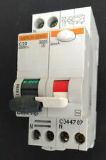 MERLIN-GERIN C40N Vigi C20 RCBO/RCD 20A Type C 30mA 6k ! Live Tested !