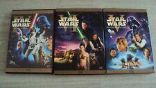 Star Wars DVD 4,5,6 - IV V VI  limited Edition Digital Mastered
