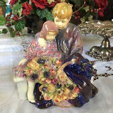 Rare Early Flower Sellers Children HN1206 – Royal Doulton Figurine 1928