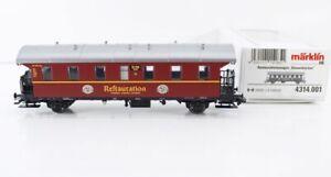 Märklin 4314.001 Speisewagen WRi 83950 Restauration Gold Ochsen  bs1906