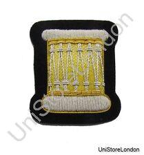 Badge Gold Silver ARM Drum No 1 Dress R1184
