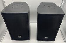 "8"" Passive Coaxial Speakers 300W 90x60 Dispersion RCF Acustica C3108-96 C Series"