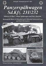4010 Panzerspähwagen Sd.Kfz. 231/232, Tankograd, NEU!&