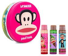 """NEW UNUSED Lip Smacker Paul Frank """"Forever Friends"""" Lip Balm Tin - 3 glosses"""