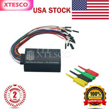 Mini Saleae 16 Logic Analyzer USB 100M Max Sample Rate 16CH Version 1.1.34 #US