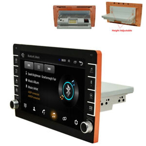 Car Stereo Radio GPS MP5 Player Bluetooth Touch Screen New 1Din 9'' Android 9.1
