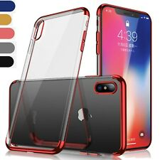 Coque Housse Silicone transparent Galaxy A8 2018 S8 iphone x 7 8 plus note