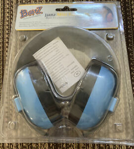 NEW BANZ MINI EARMUFFS CHILDRED 3 MONTHS + BLUE HEARING PROTECTION KIDS TOTS A+