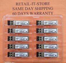 DELL INTEL E10GSFPSR 10G Ethernet SFP-10G-SR for PCI X520 X710 Y3KJN 0Y3KJN 60DA