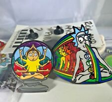 Rick and Morty Gift Set, Rick and Morty Pins, Stickers, Buttons, Mystery Pin