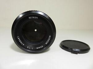 Nikon NIKKOR 50mm F1.4 Ai-S Manual Focus Camera Lens / Only $0.01!!! 👀🔥