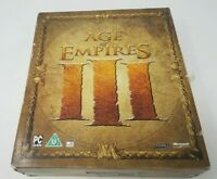Age of Empires III Limited Collectors Edition for PC CD-ROM, 2005, CIB Big Box