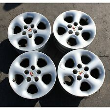 "(1179) Set 4 cerchi lega BMW 318 1997 15"" 7J  ET35 fori 5x120 usati (80-7-A)"