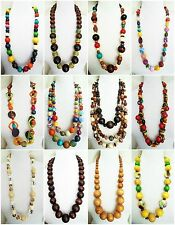 Wood Women Necklaces African Jewellery
