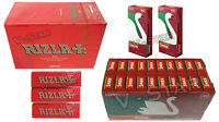 600 RIZLA RED ROLLING PAPERS & 400 SWAN LONG EXTRA SLIM FILTER TIPS - ORIGINAL