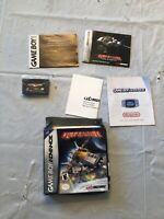 Nintendo Gameboy Advance Defender Complete With Manual, Box, Game & Extras