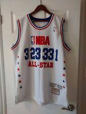 NBA-Mitchell&Ness ALL STAR3-23-33-1 Iverson,Jordan,Bird,McGrady Jersey-Very RARE