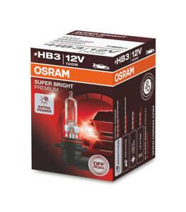 OSRAM HB3 100W Offroad Super Bright Premium 69005SBP 12V P20d 1 bulb