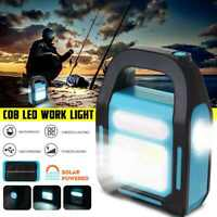 Portable Solar Power Station Generator USB Phone Charger Outdoor Emergency Light