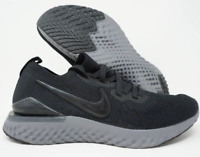 W Nike Epic React Flyknit 2 Running Shoes Black Grey BQ8927-001 Size 10.5