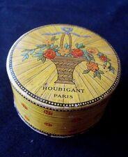 Boite poudrier  Quelques Fleurs (vide) naturelle  Houbigant  Vintage