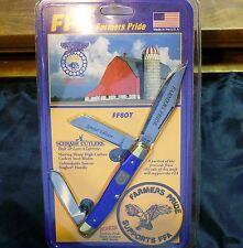 """Schrade 8Ot Ffa Premium Stockman """"Sfo"""" W/Original ClamPac Unopened Circa-1980's"""