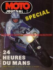 MOTO JOURNAL  551 Test Essai KAWASAKI GPZ 1100 FOURNALES 24 Heures du Mans 1982