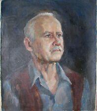 Russian Ukrainian Oil Painting male portrait realism man