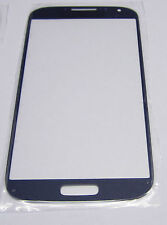 Samsung Galaxy S4 i9500 i9505 LCD Digitizer Front Screen Glass Outer Lens BLUE