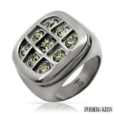 DYRBERG/KERN of DENMARK! Grafi Collection ring With Genuine Crystal Size 9
