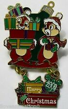 Disney Merry Christmas Chip and Dale Pin