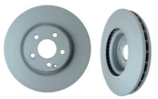 2 ZIMMERMANN Front Brake Disc Rotor Set for Mercedes cLs500 cLs550 gLk250 gLk350
