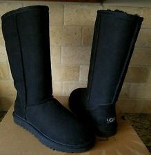UGG Classic Tall Boots Suede/Sheepskin US 6 Womens 5815 New!!