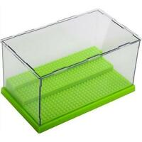 Lego Minifigures Collector Stackable Clear Storage Display Case