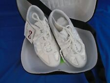 Nfinity Adult or Big kid Evolution Cheer Shoes, White, size 5