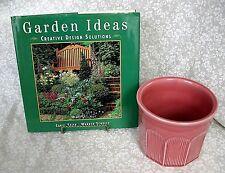Garden Ideas by Carol Spier (1997, Hardcover) 1 Vintage Flower Pot