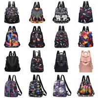 Women Anti-Theft Backpack Rucksack Waterproof School Travel Shoulder Bag Purse