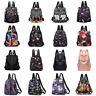 Women Waterproof Anti-Theft Rucksack School Backpack Travel Shoulder Bag Purse