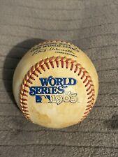 1985 World Series Baseball Rawlings ORIGINAL HAITI Kansas City Royals