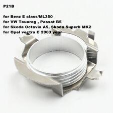 2X LED Headlight H7 Bulbs Adapter Holder Retainer 4 Benz E CLASS ML350  PassatB5