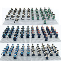 21pcs CUSTOM Army Soldier Police Figure For Lego Minifigures For Kids Child Gift