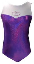 New Gymnastic/Dance Leotard - Purple Sweetheart